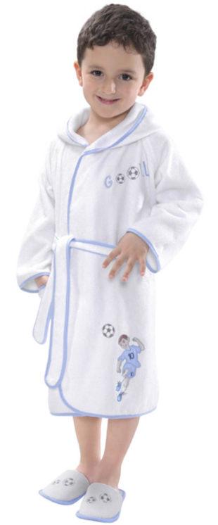Froté dětský župan fotbalista