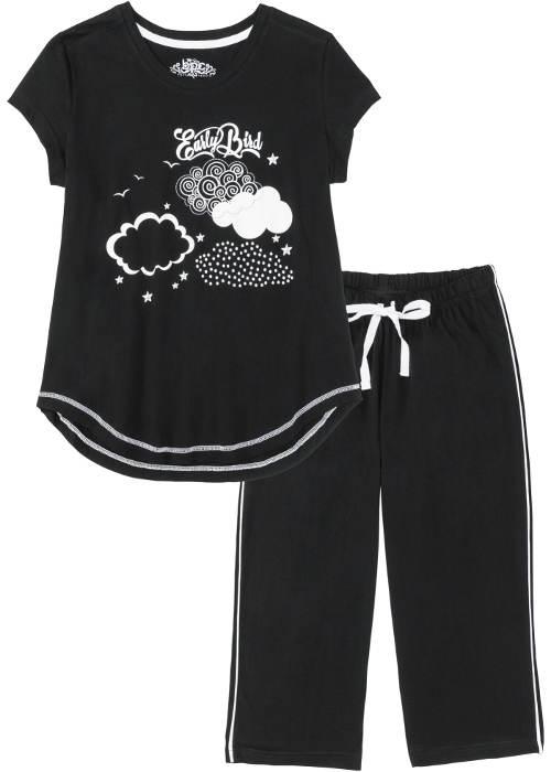Dámské pyžamo s mráčky