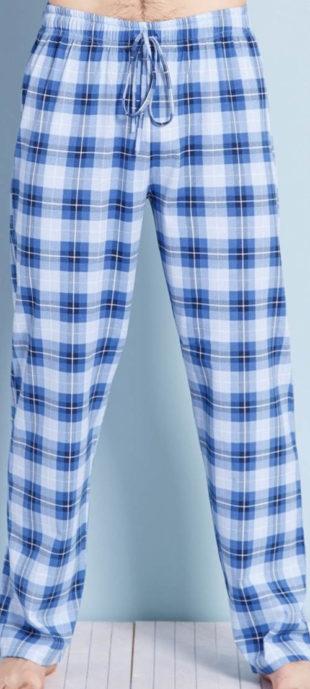 Karované pánské pyžamové kalhoty Adam Gazzaz