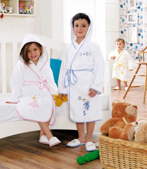 Dětské župany s antibakteriální úpravou