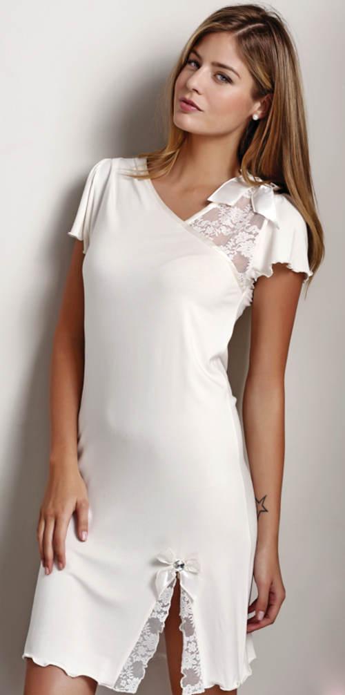 Hypoalergenní dámská noční košilka z bambusového vlákna
