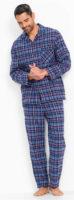 Klasické pánské flanelové pyžamo