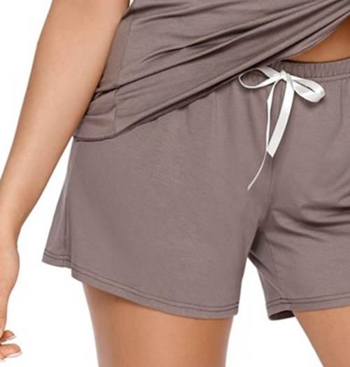 Kraťáskové letní dámské pyžamo