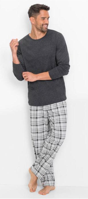 Pánské pyžamo s dlouhými rukávy a nohavicemi