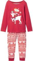 Holčičí vánoční pyžamo
