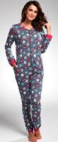 Pohodlné dámské overal pyžamo Cornette
