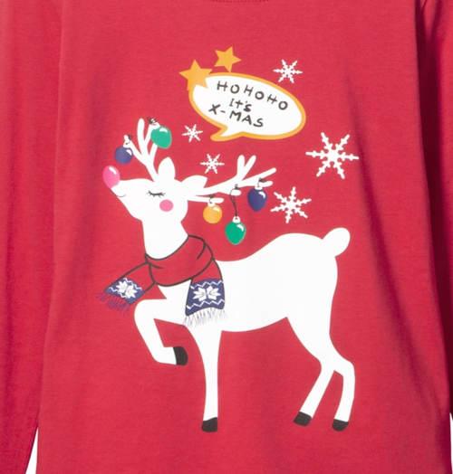 Vánoční pyžamo se sobem
