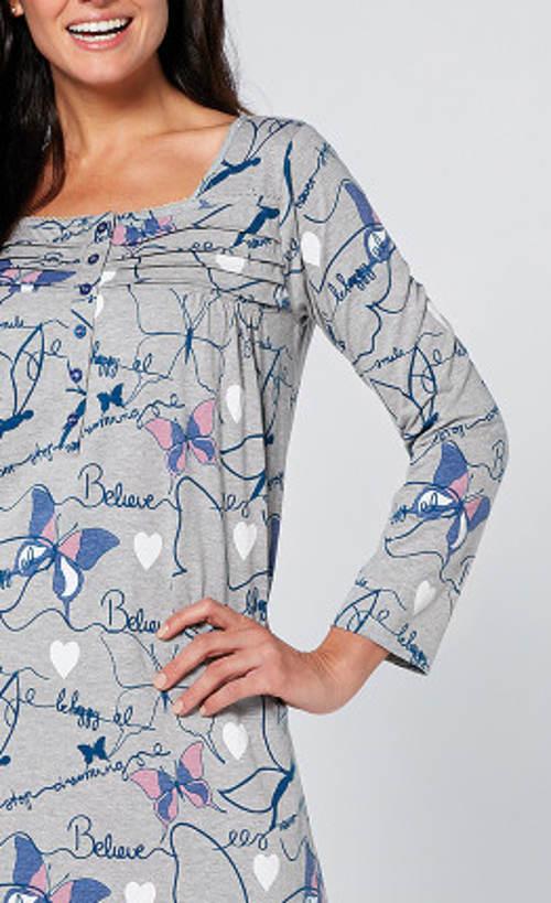 Bavlněná noční košilka pro starší