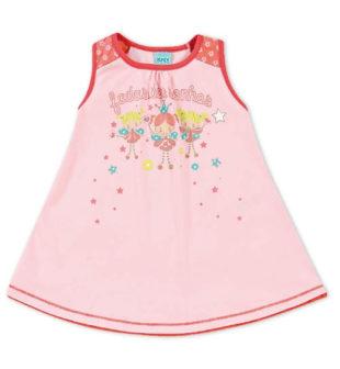 Dětská růžová noční košile Kyly PRINCEZNY