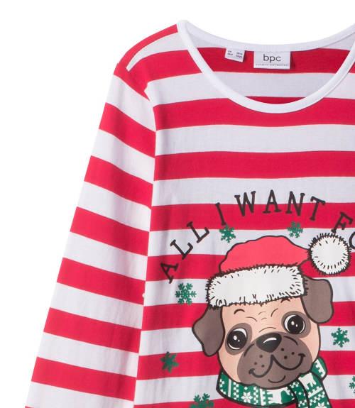 Dívčí noční košile s vánočním motivem