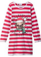 Holčičí vánoční noční košile