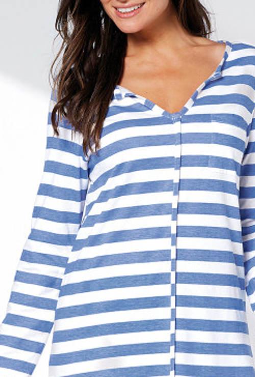 Námořnické dámské pyžamo