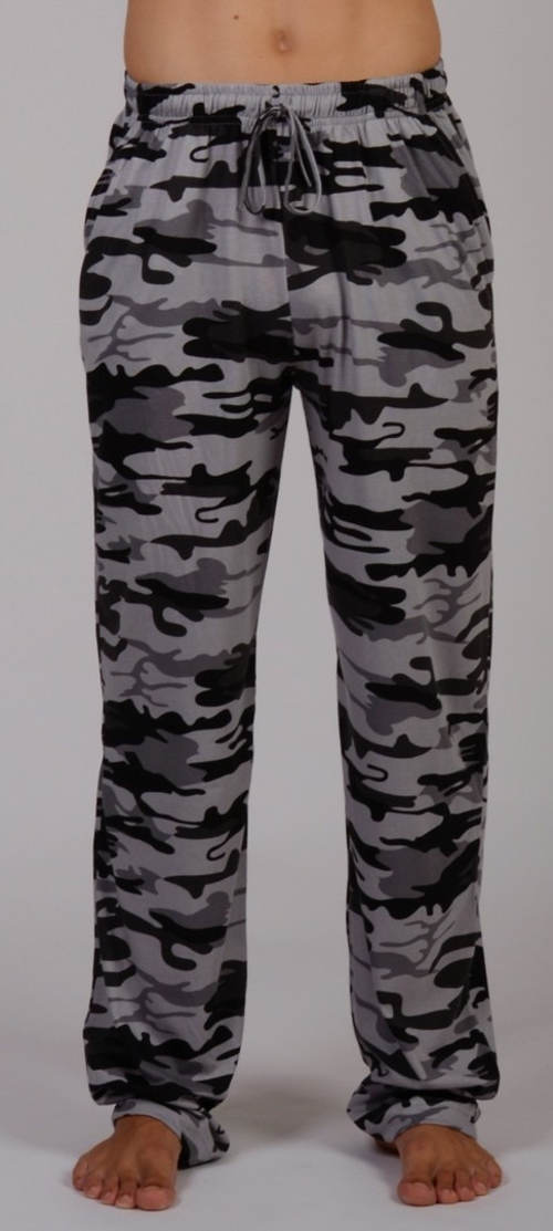 Černošedé vojenské pyžamo