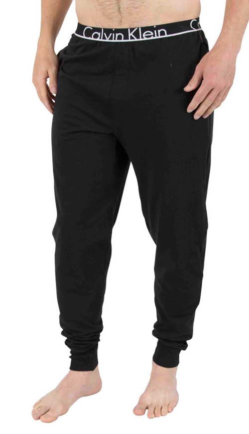 Pánské černé pyžamové kalhoty Calvin Klein