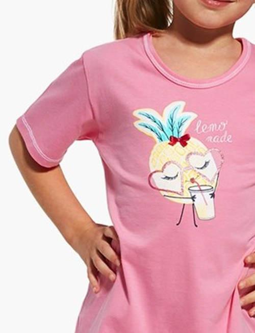 Růžové holčičí letní pyžamo