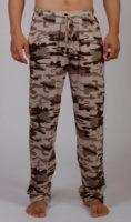 Vojenské maskáčové pyžamové kalhoty