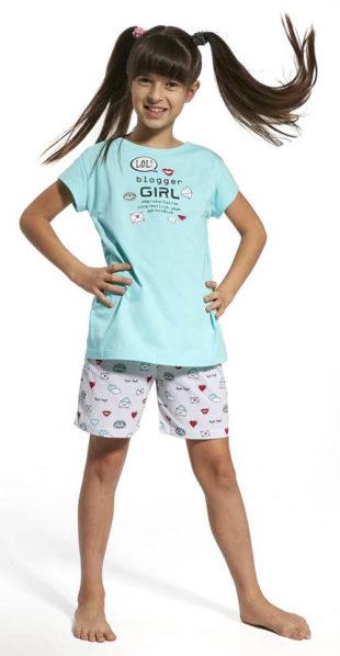 Krátké dívčí pyžamo Blogger girl