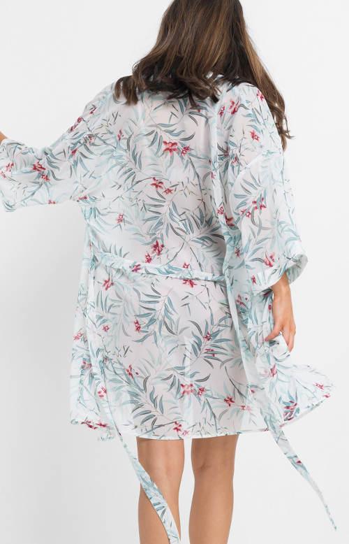 Květované dámské kimono