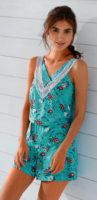 Lehké letní pyžamo bez rukávů