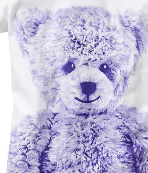 Plyšový medvídek na pyžamu