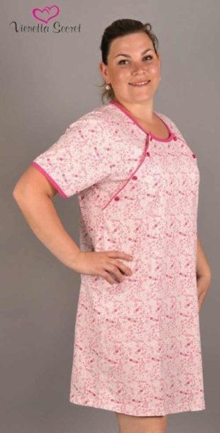 Dámská bavlněná mateřská noční košile Vienetta Secret