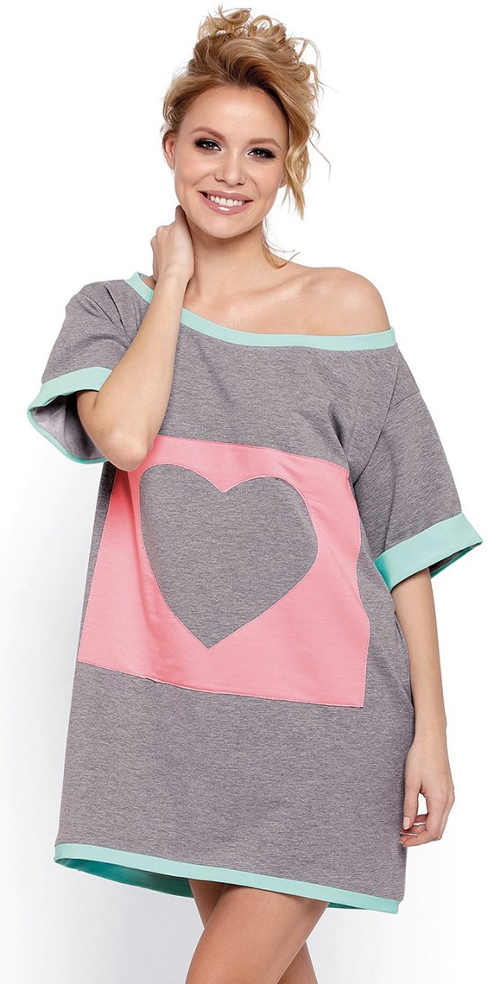 Moderní oversize noční košilka Natalia