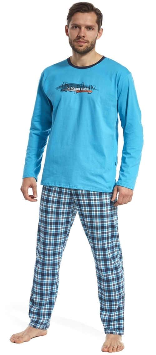 Moderní a pohodlné pyžamo pro muže Display Cornette