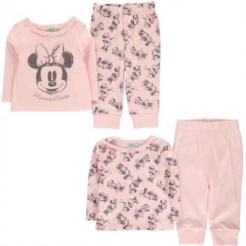 Růžové holčičí pyžamo Disney Minnie Mouse