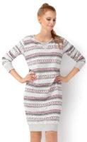 Zateplená dámská zimní noční košile