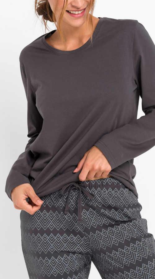 Zavazovací šňůrka v pase kalhot pyžama