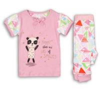 Růžové dětské dívčí pyžamo Minoti