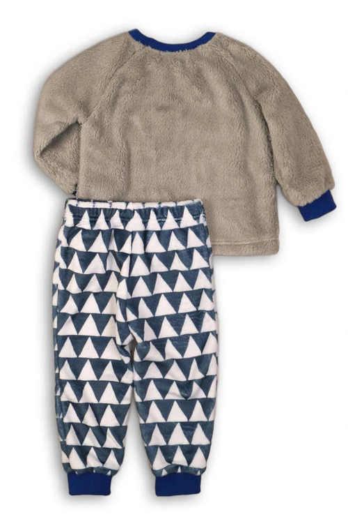 Teplé fleecové chlapecké pyžamo