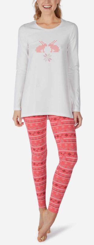Dámské pyžamo Skiny s legínovými kalhotami