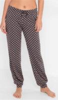 Dámské pyžamové kalhoty se stahovací šňůrkou v pase