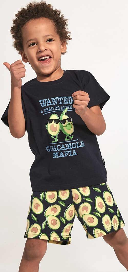 Letní chlapecké pyžamo s veselým potiskem