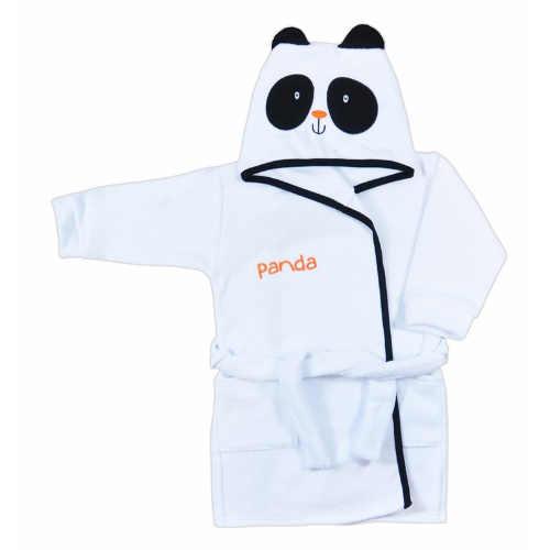 Krásný dětský župan s motivem pandy pro holky i kluky