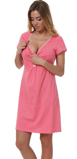 Mateřská noční košilka ve 3 módních barevných variantách