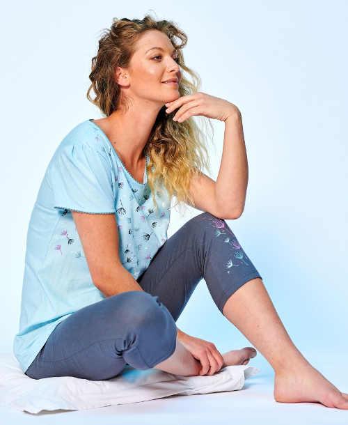moderní pyžamové kalhoty pro dívky a ženy