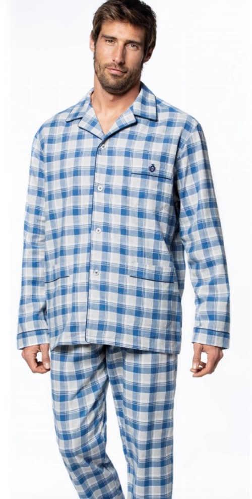 pánské moderní propínací pyžamo