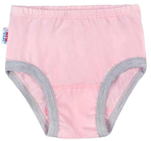 Růžové dívčí kalhotky k noční košilce