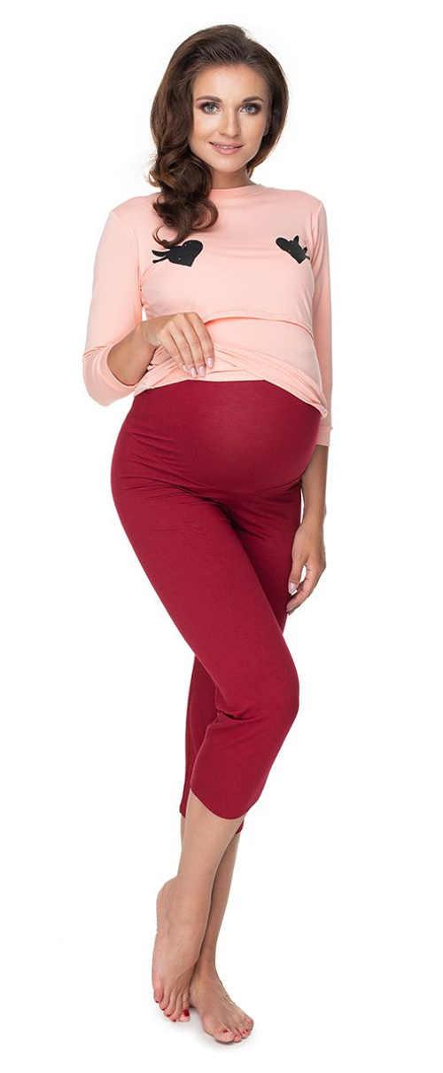 stylové pyžamo pro těhotné v působivém provedení