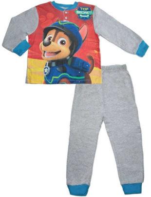 Chlapecké dlouhé kvalitní pyžamo s veselým obrázkem