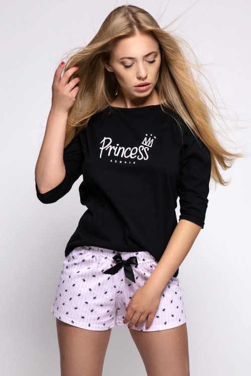 Dámské bavlněné pyžamo Infante v atraktivním designu