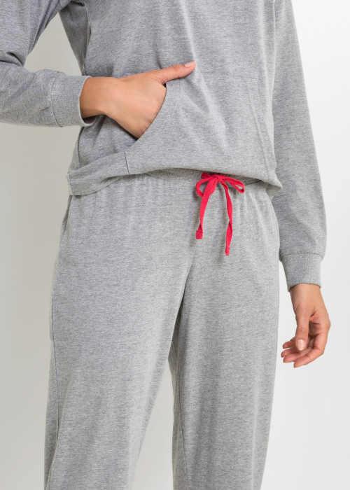 pyžamo dlouhý rukáv s kapsou