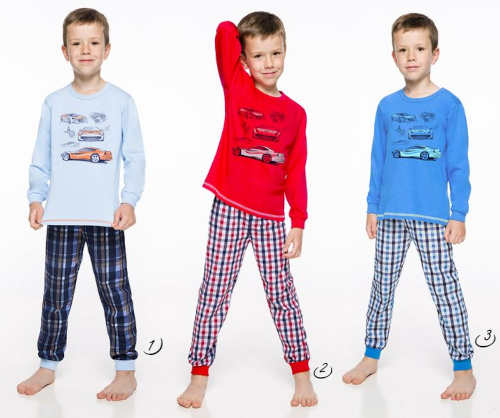 Klučičí pyžamo do školky