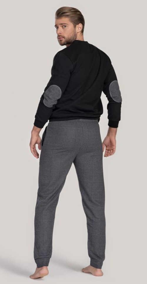 luxusní pánské stylové pyžamo