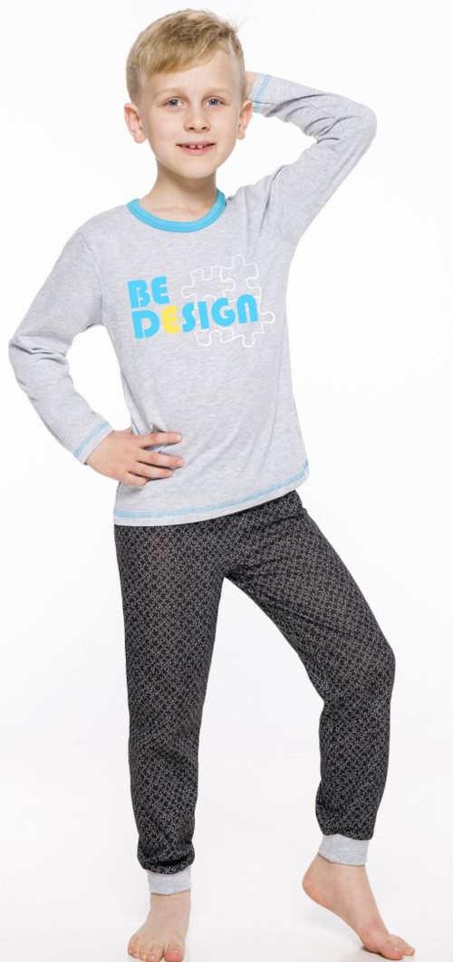 Moderní dětské pyžamo Taro s dlouhými rukávy a nohavicemi