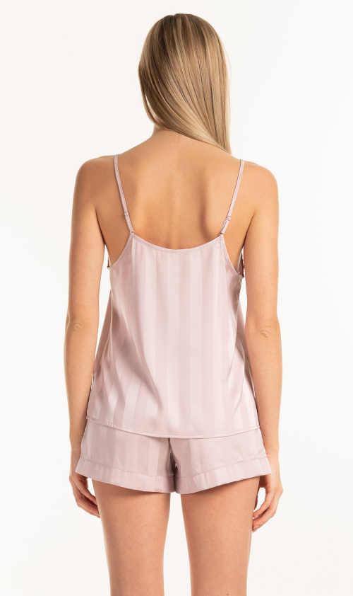 módní pyžamový top růžový