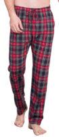 Pánské kostkované pyžamové kalhoty Vienetta Secret Šimon