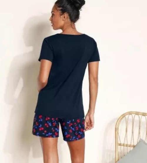 dvoubalení bavlněných krátkých pyžam